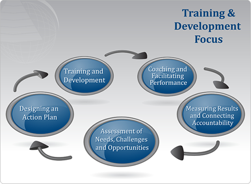 explain the importance of training and talent development to the